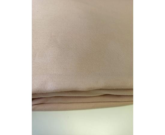 """Простыня на резинке из сатина 120х200 Пудра, изображение 2 - Интернет магазин """"Труд"""""""